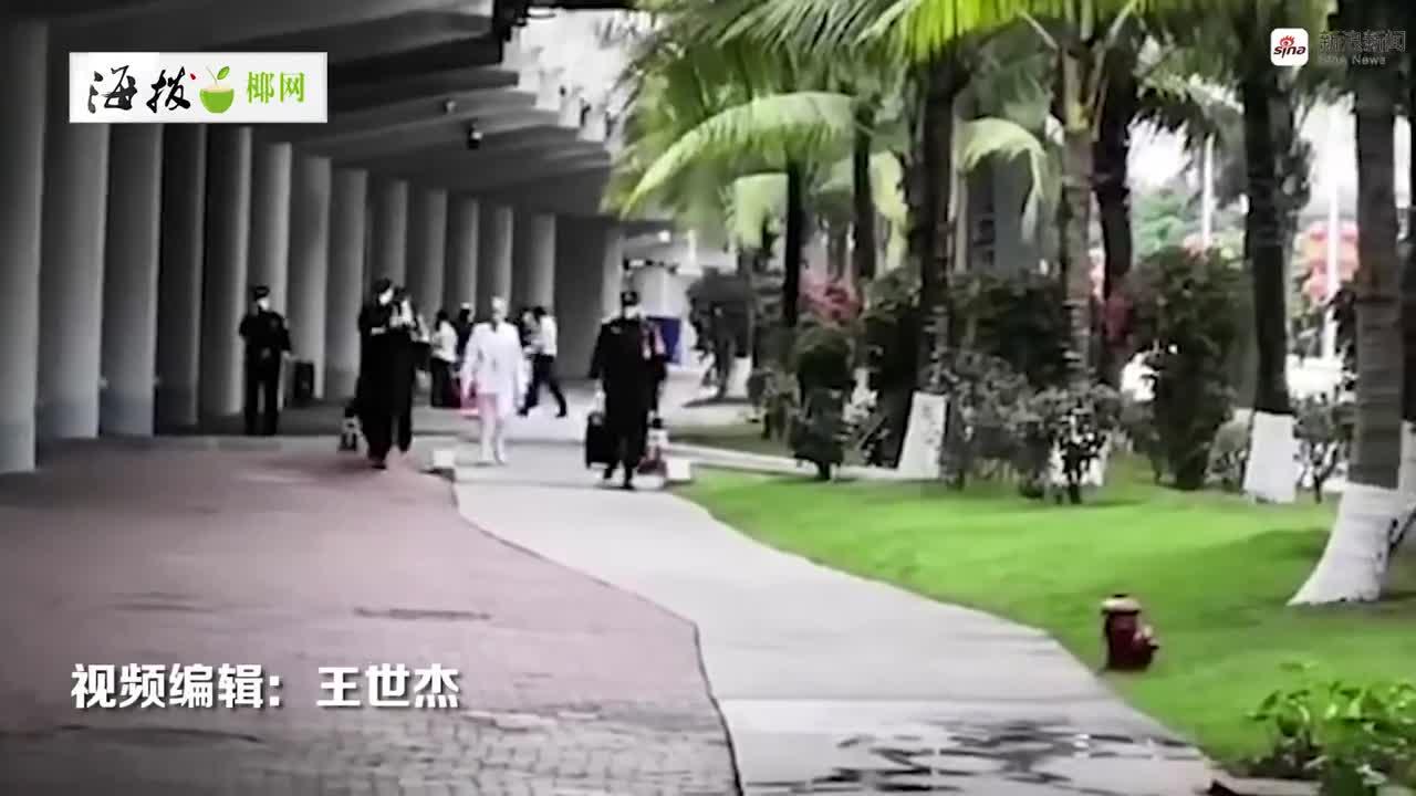 【海视频】海口出动公交车累计转移387名机场乘客到隔离点