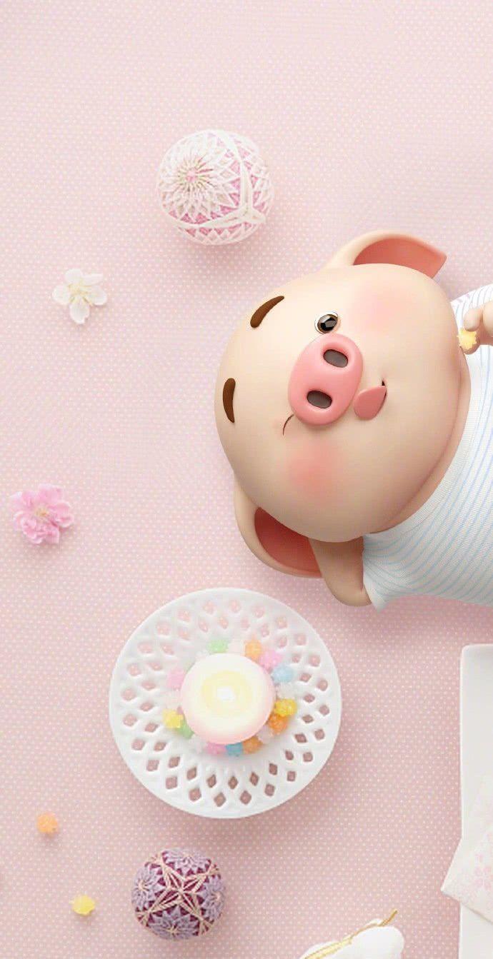 2019年猪猪壁纸来袭!换上福气满满,改变命运的时候到了!
