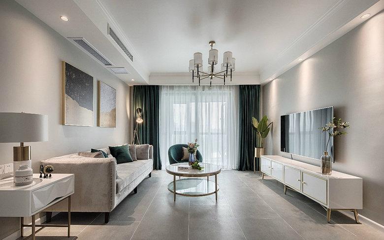 现代轻奢风三居室,高级灰质感,精致有格调的家!
