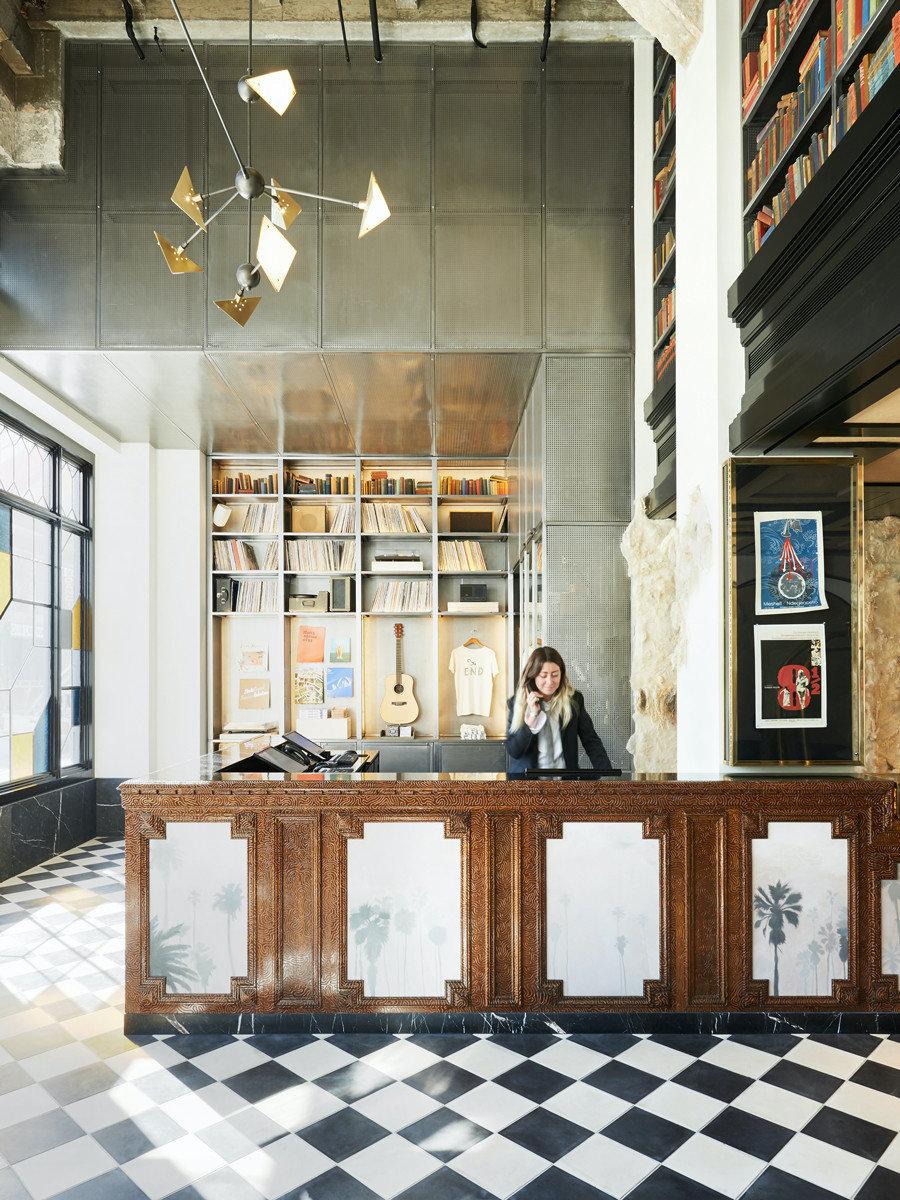 Ace Hotel DTLA in LA|华美的剧院元素融合文艺复兴时期的设计风情