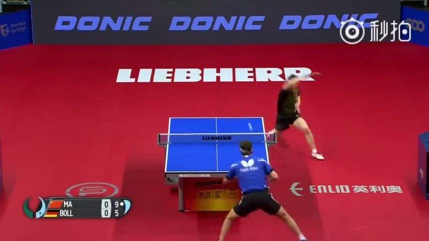 男乒世界杯半决赛,马龙被波尔4-3顽强逆转