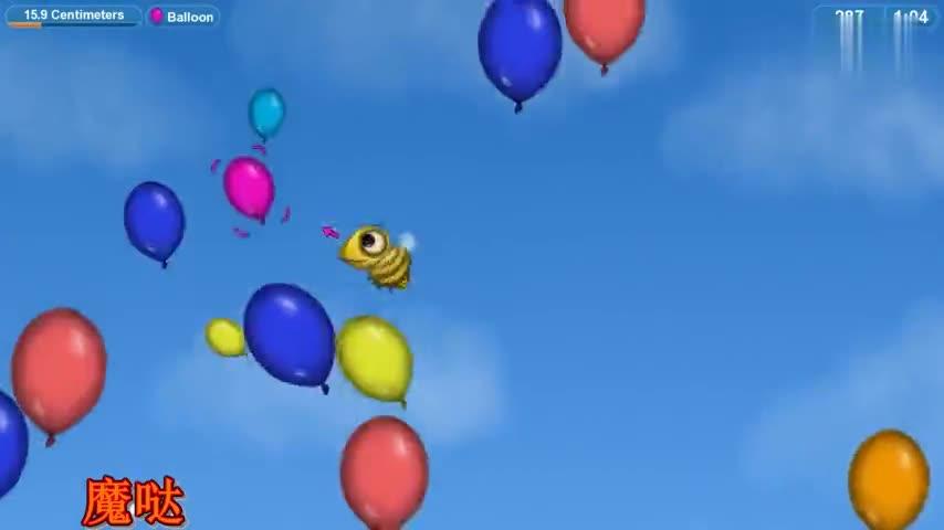 美味星球:吃货小黄蜂被战斗机盯上了,结果还是被它吞了