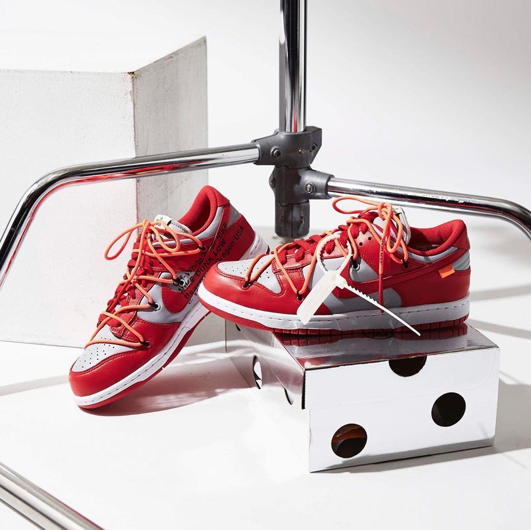 各有特色!全新 Off-White x Nike Dunk Low LTHR 三款配色实拍预览