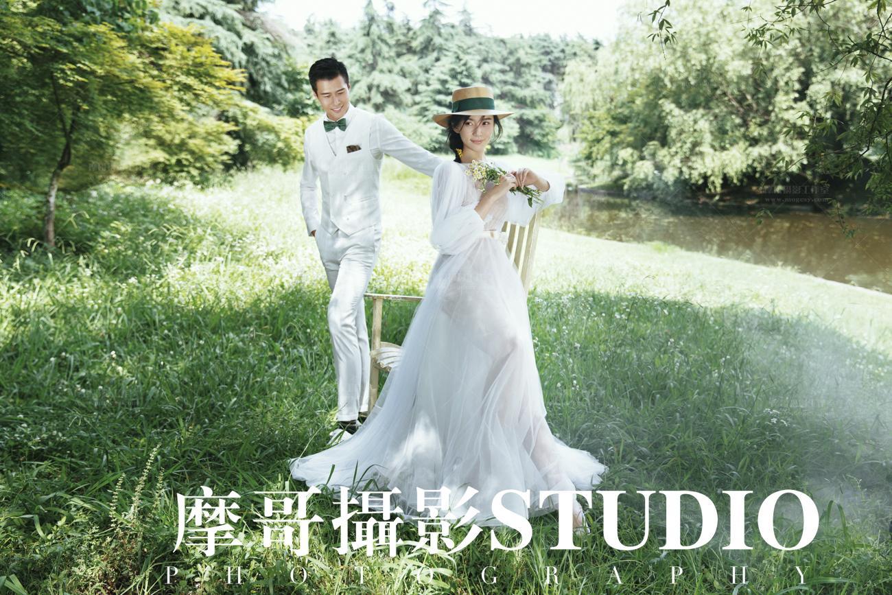 婚纱照图片唯美