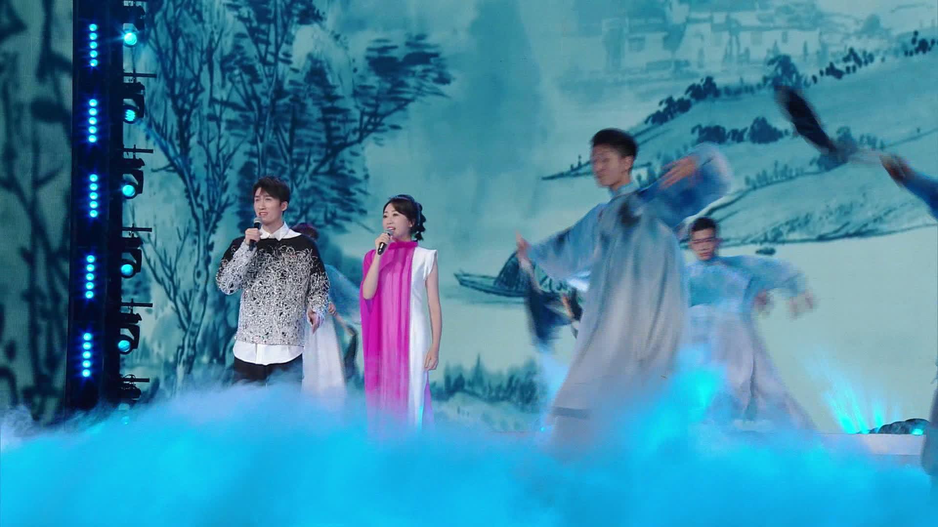 《2020星光嘉年华》传承传统文化 金婷婷、谢素豪带来歌曲《龙文》