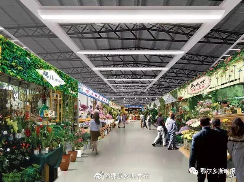 又有新去处~鄂尔多斯首家花卉文玩市场即将落成