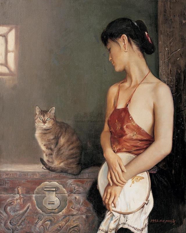 世界著名人体油画里如花似玉的美女赏析,美的令人魂牵