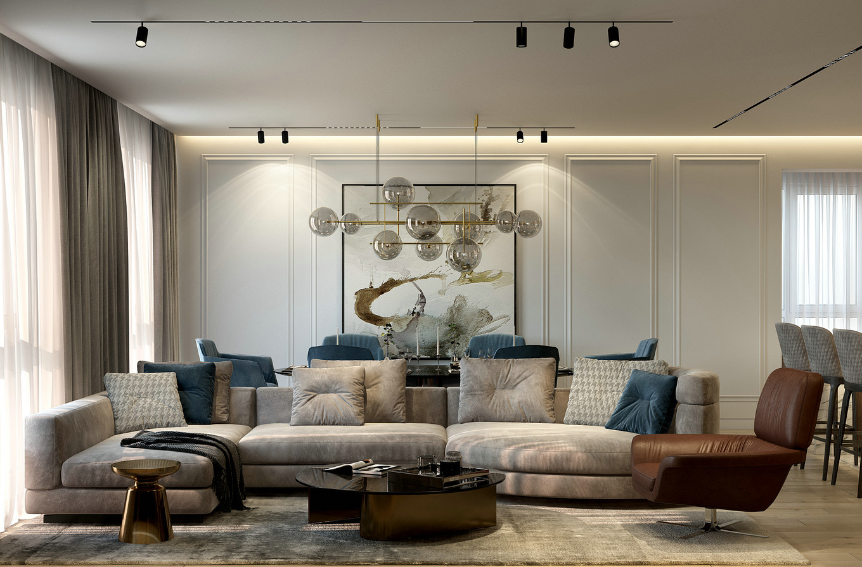 现代极简之家,大气舒适的生活 /汕头室内设计/揭阳普宁室内设计