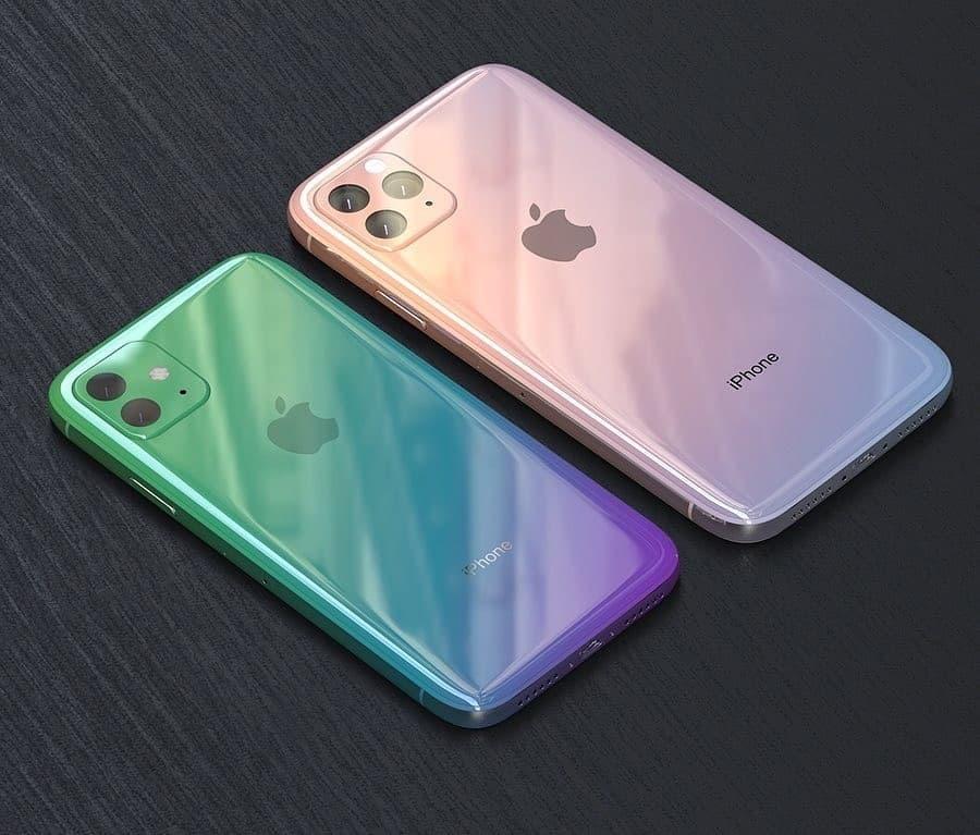 在配色方面,今年的iPhone11应该可以引导潮流吧