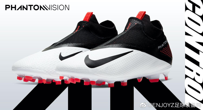 日本知名足球装备零售商SWS率先放出了耐克全新配色Phantom VSN 2足球