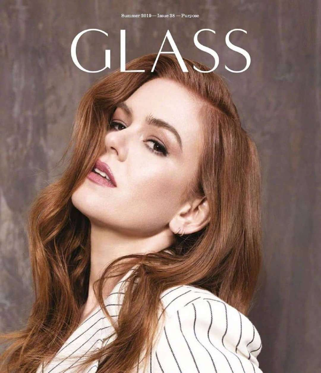 艾拉·菲舍尔 Isla Fisher – Glass Magazine (Summer 2019)。
