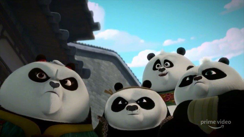 动画剧集《功夫熊猫:命运之爪 第二季》(Kung Fu Panda