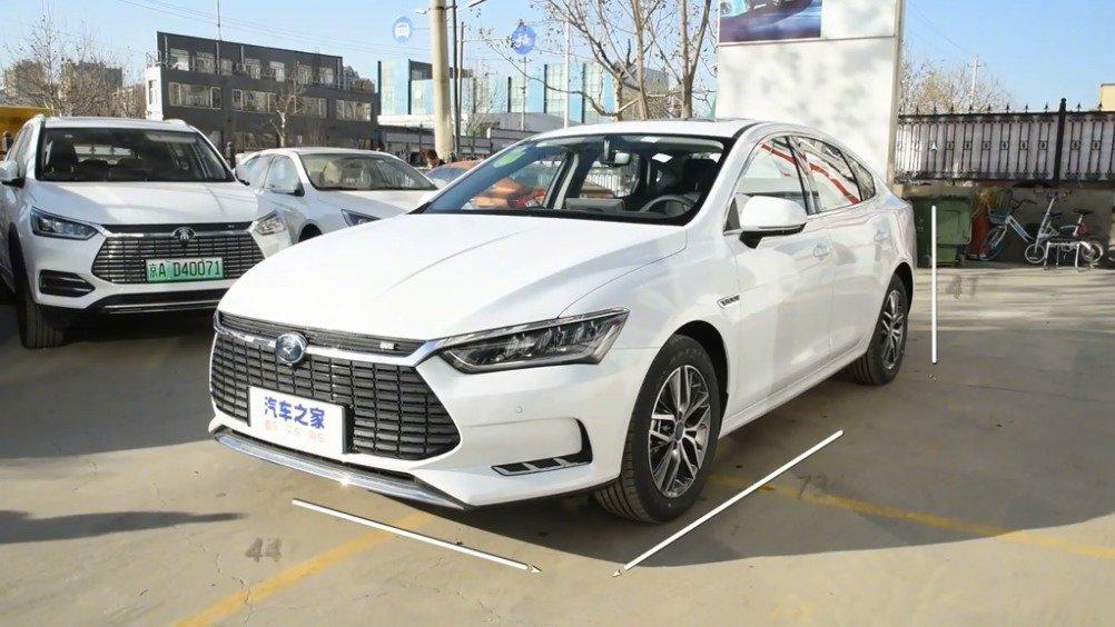 到店实拍 秦Pro新能源 2018款 EV500 智联领动型~