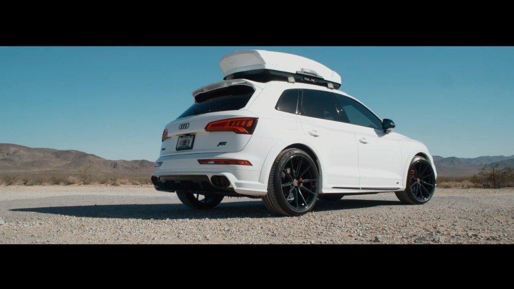 视频:SUV玩出了旅行车的感觉,奥迪SQ5改装案例