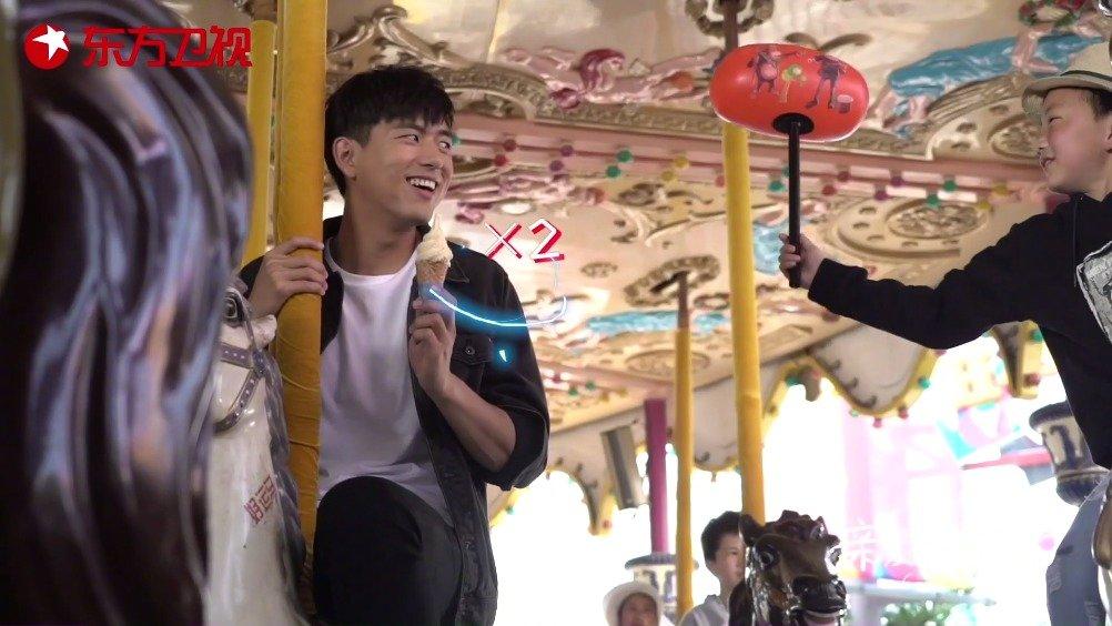 叮咚,你的韩三岁已上线,请前往游乐园旋转木马处领取