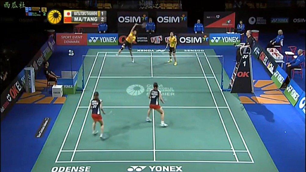 2012丹麦赛决赛 马晋/汤金华vs松友美佐纪/高桥礼华  highlights