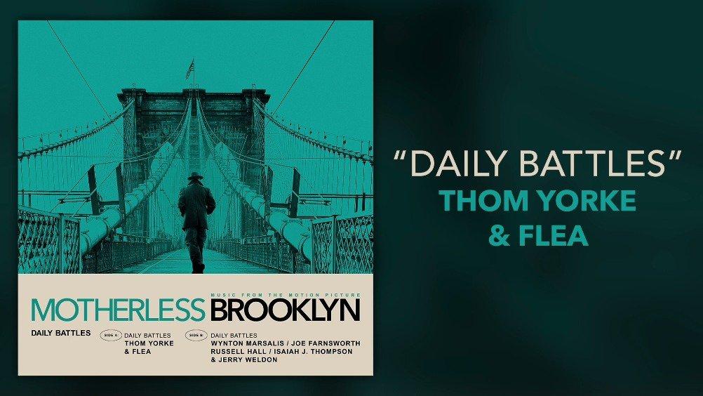 电台司令Radiohead首脑Thom Yorke联手Flea电影原声带新单Daily Battl