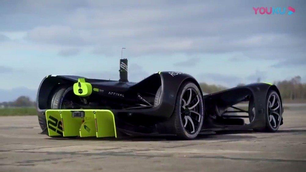 175.49英里/小时!Roborace刷新无人汽车最快时速吉尼斯记录