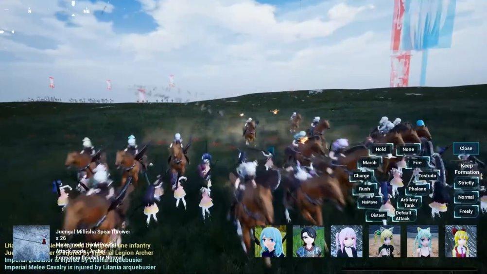 二次元骑砍游戏《Girls' civilization》上架Steam