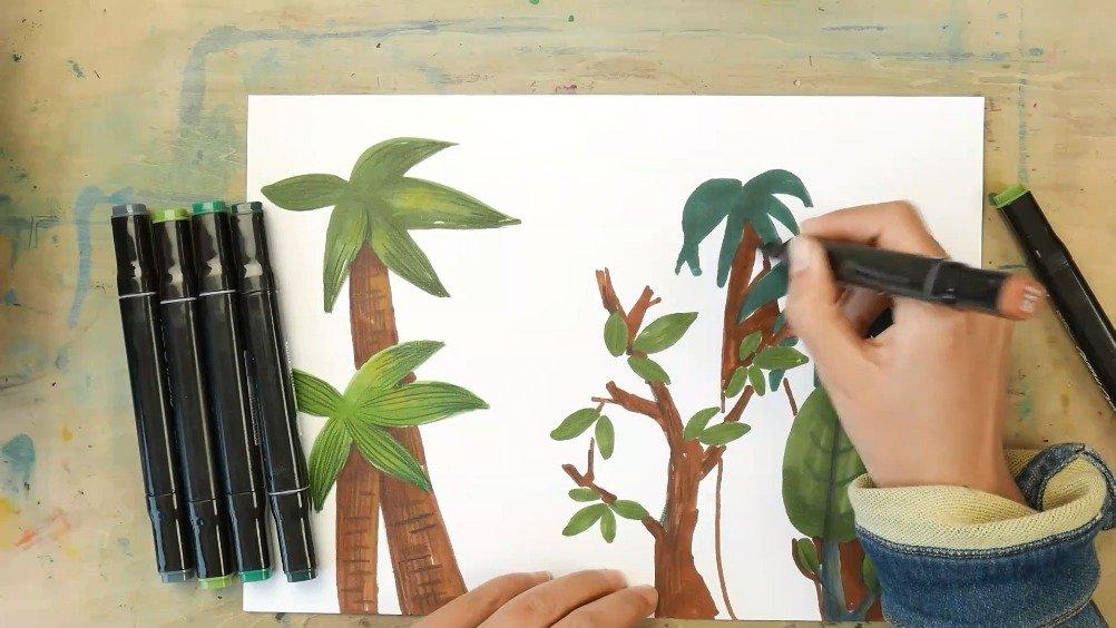 儿童小绘本:窗外的自然风景   更多课程——