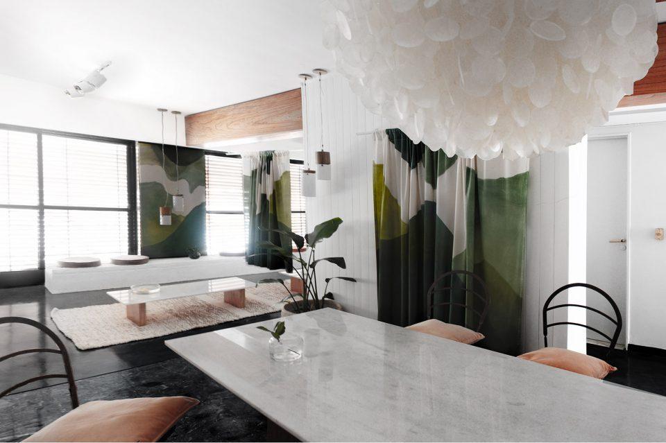 阿根廷时尚私人公寓 | 空间功能过渡的微妙效果通过触觉