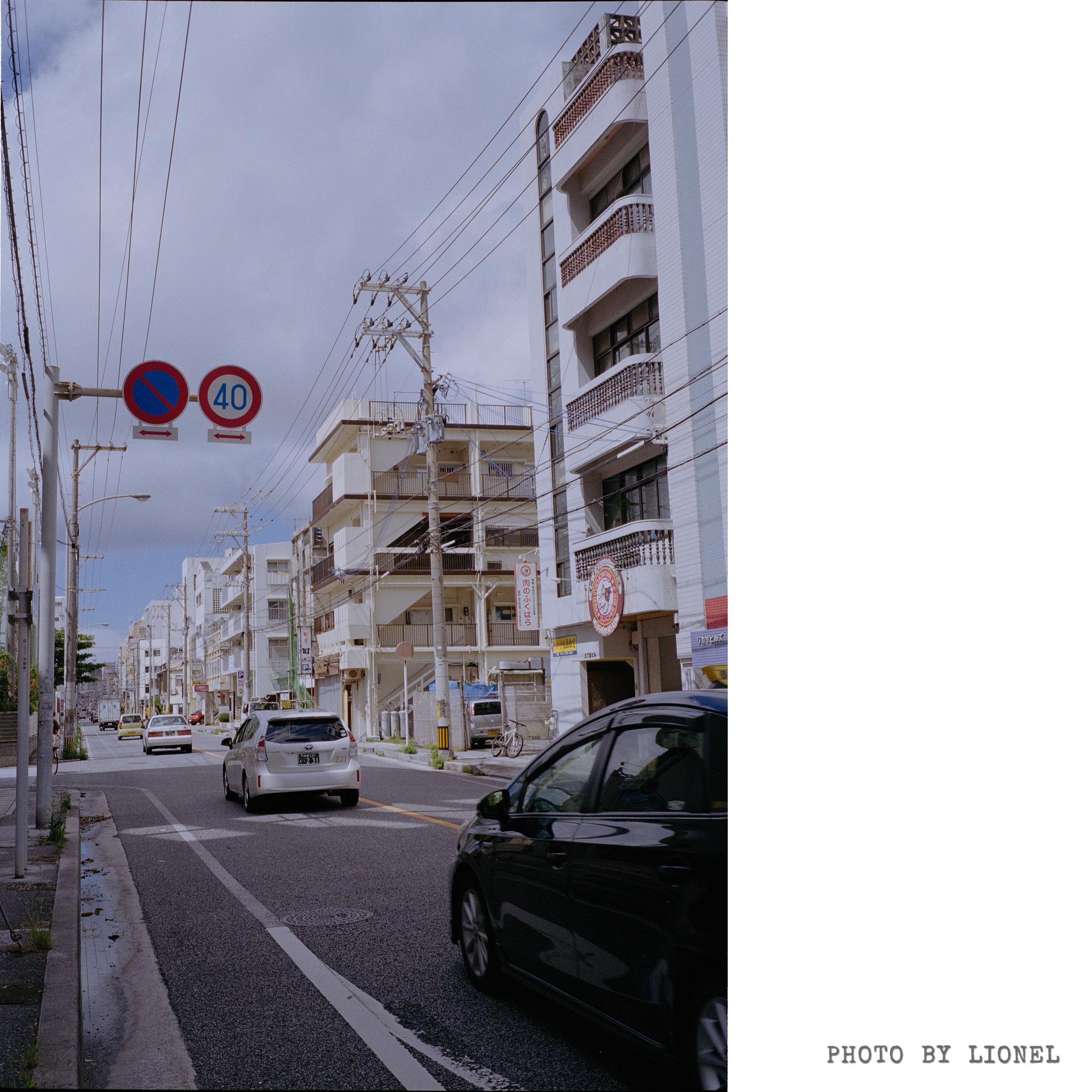 那霸市の街道冲绳