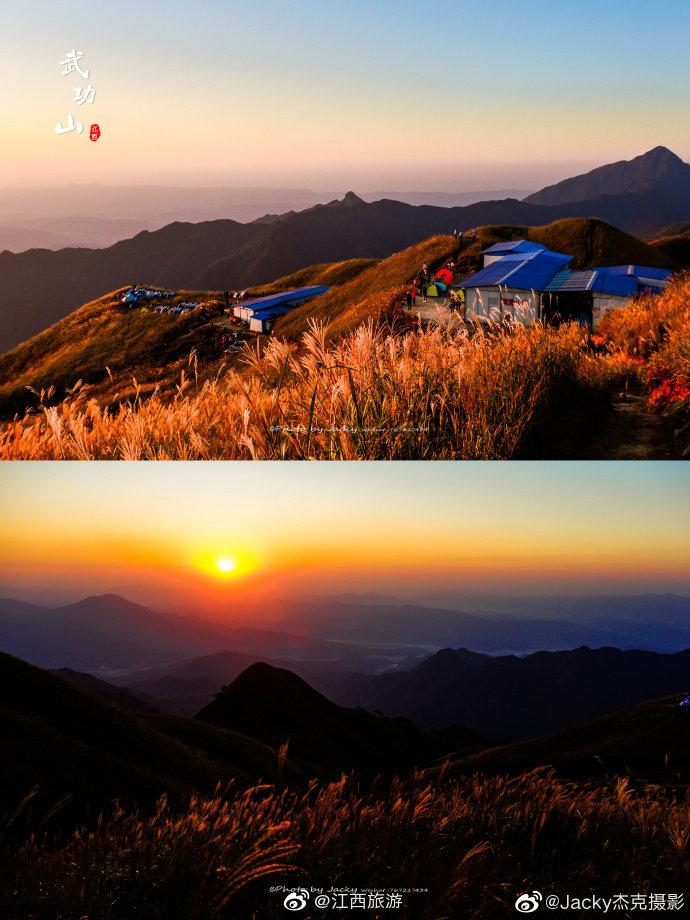 徒步登山,看日出日落,赏月望星空,睡帐篷,穿越十万亩高山草甸