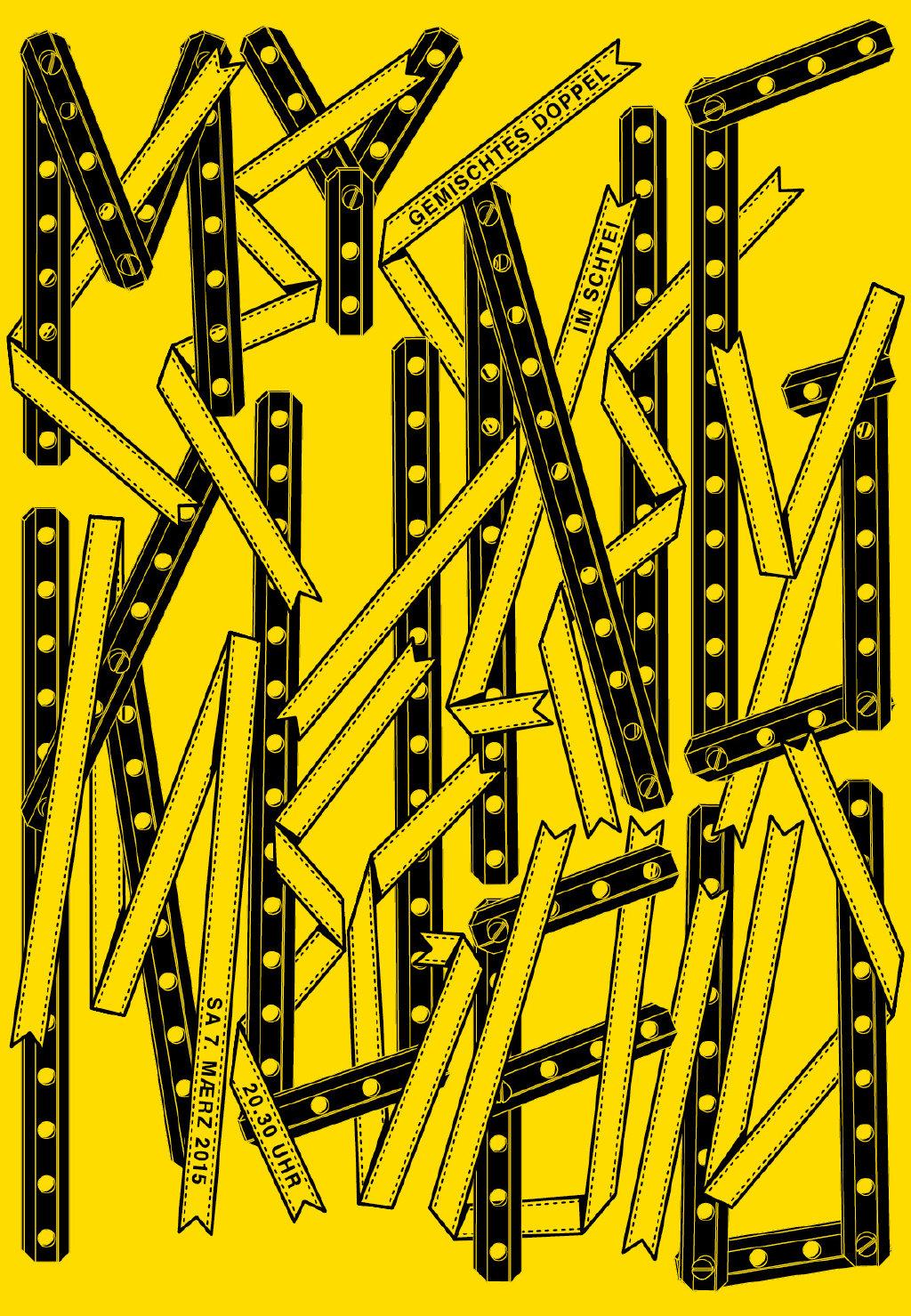 字体海报设计作品欣赏!by - 设计师 erich brechbühl