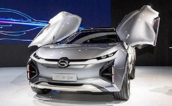 传祺公布ENTRANZE概念车亮相2019北美车展