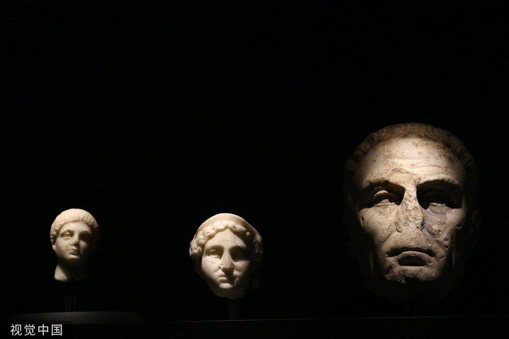 土耳其凯塞里博物馆最近展出的古文物