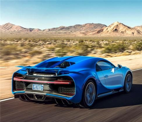 布加迪Chiron:这辆车造型新颖,运动感和科技感并存