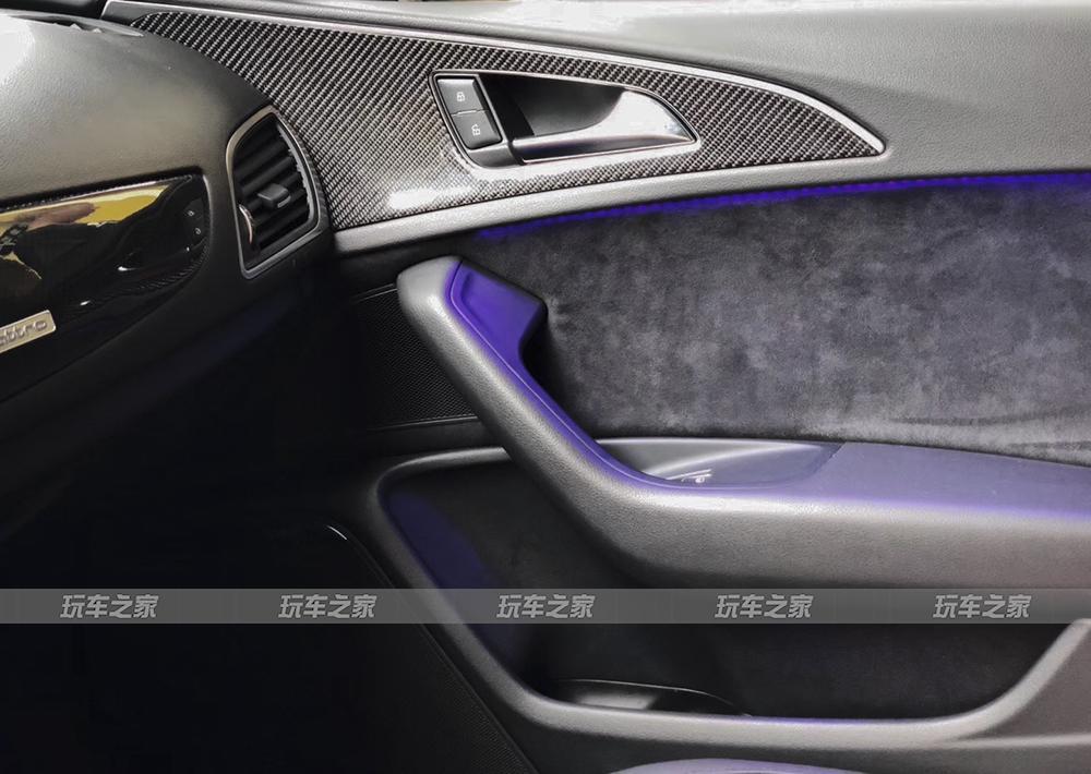 有质感的奥迪A6改装案例 A7电动尾翼+ACE轮毂
