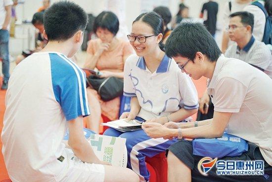 惠州高校今年增加外省招生计划