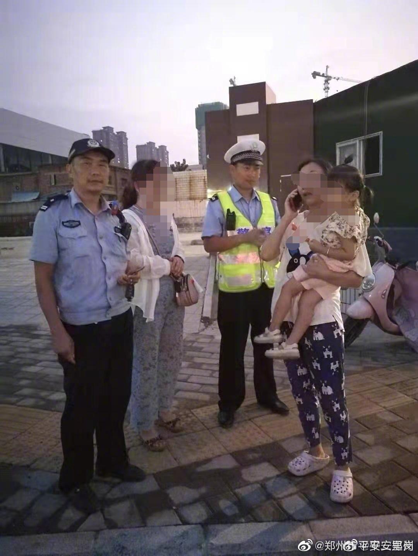 8月12日晚19时,二里岗分局交管巡防大队巡逻4号民警殷庆伟在巡逻时