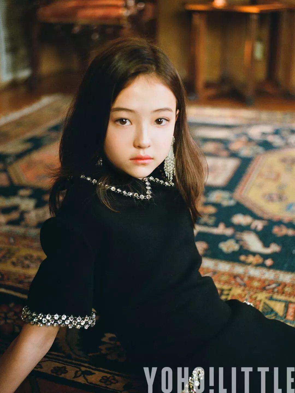 德韩混血10岁小模特Ella Grossins:ellagross