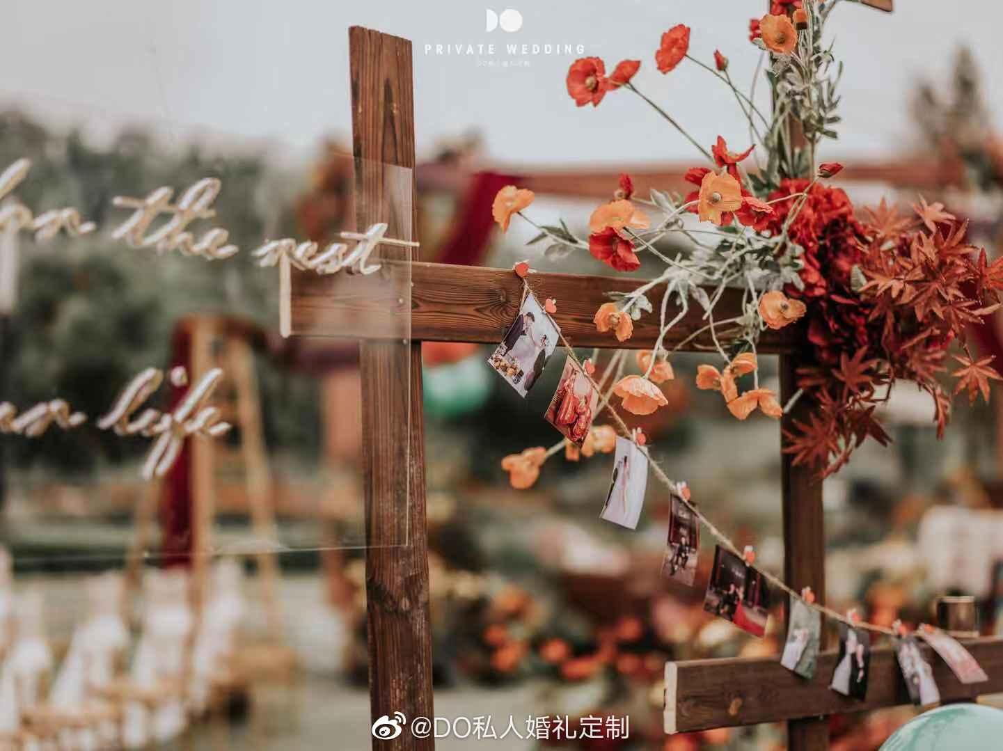 《秋色》 在深秋嫁给深爱的人。 婚礼策划:@DO私人婚礼定制