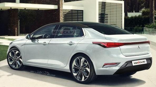 三菱全新一代EVO渲染图曝光!网友:若长这样,不如买奔驰A45 AMG
