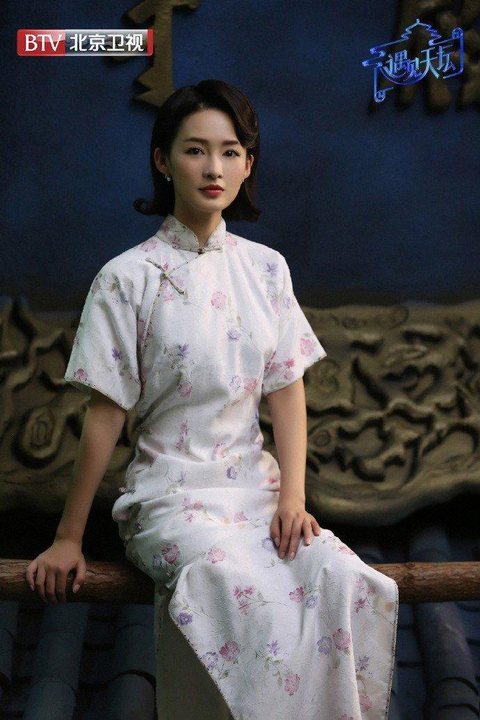 《遇见天坛》@李沁 饰演民国才女林徽因,网友表示真的很像本人