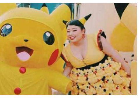 """这个200斤的姑娘红到爆炸,征服日本娱乐圈,被奉为""""女神""""!"""