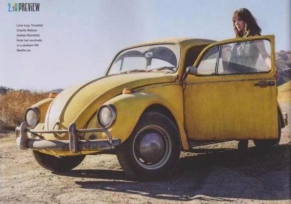 """软萌大黄蜂变回了甲壳虫!你还记得它的""""进化史""""吗?"""