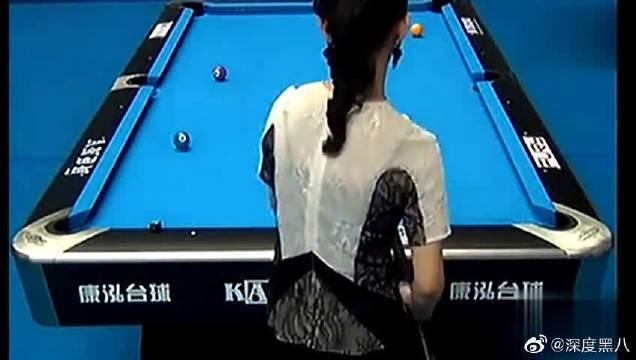 潘晓婷迎战韩国金佳映,看两位美女大秀球技真是一种享受!