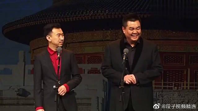 冯凤禹、张伯鑫搞笑相声,推销员的嘴那是绝了