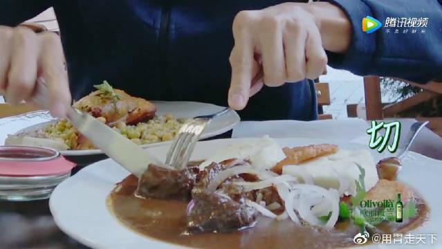 捷克最有名的烤猪肘!划算又好吃!
