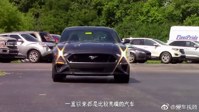 """视频:真正的""""野马""""!4缸发动机6AT,爆发310马力,甩奔驰CLA十条街!"""