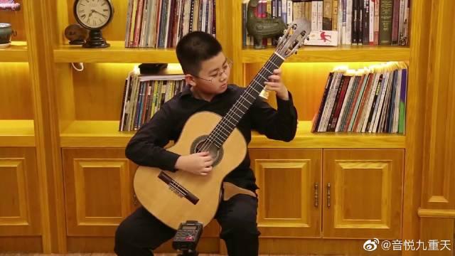 莫扎特《魔笛主题变奏曲》,这小孩子也太厉害了吧,点赞!