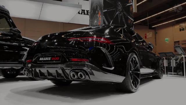 800匹马力、巴博斯奔驰新AMG GT63S