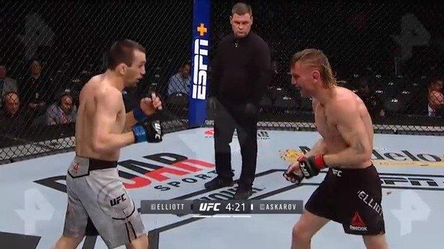 UFC246阿斯卡罗夫击败蒂姆·埃利奥特比赛完整版