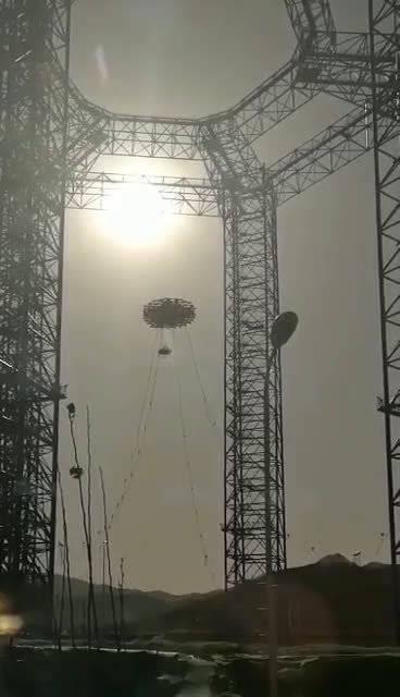11月14日,在位于河北怀来的地外天体着陆综合试验场