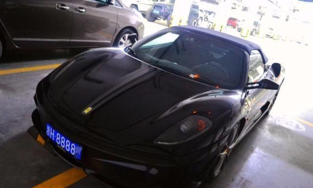 衢州市唯一法拉利,车牌4个8,有个配置让人长见识