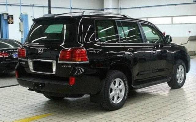 19款雷克萨斯LX570s黑色限量版来袭,身材更加魁梧